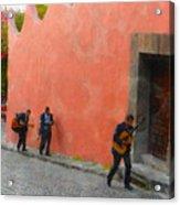 San Miguel De Allende Mexico Streets Acrylic Print