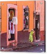 San Miguel Shop Acrylic Print