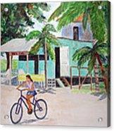 San Pedro Cafe Acrylic Print