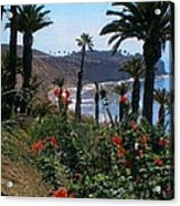 San Pedro Coast Line Acrylic Print by Robert Bray