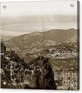 San Rafael From Mount Tamalpais California Circa 1905 Photo By Putnam- Valentine Acrylic Print