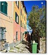 San Rocco In Camogli Acrylic Print