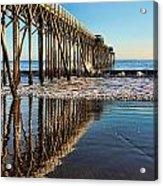 San Simeon Pier Acrylic Print
