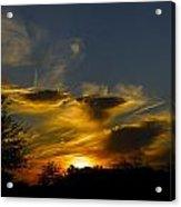San Tan Sunset Acrylic Print