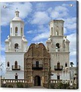 San Xavier Del Bac Mission Facade Acrylic Print