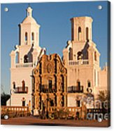 San Xavier Del Bac Mission IIi Acrylic Print