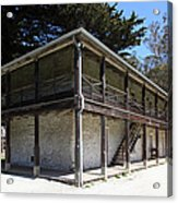 Sanchez Adobe Pacifica California 5d22642 Acrylic Print by Wingsdomain Art and Photography