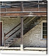 Sanchez Adobe Pacifica California 5d22656 Acrylic Print