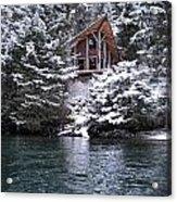 Sanctuary In Winter Acrylic Print