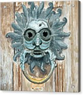 Sanctuary Knocker Acrylic Print