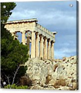 Sanctuary Of Aphaia 2 Acrylic Print