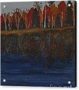 Sanctuary Pond Acrylic Print