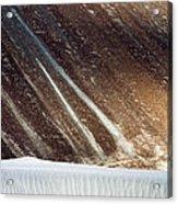 Sand Abstract, Hunder, 2006 Acrylic Print