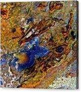 Sand And Sea Acrylic Print