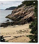 Sand Beach Acadia Park Acrylic Print