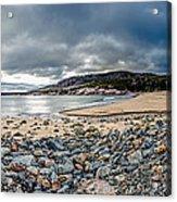 Sand Beach At Acadia Acrylic Print