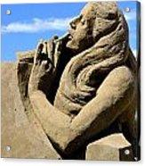Sand Castle Contest Parksville Acrylic Print