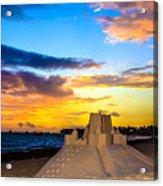 Sand Castle 1 Acrylic Print