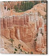 Sand Castles In Bryce Canyon Acrylic Print by Mari  Gates