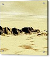 Sand Desert Acrylic Print
