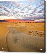 Sand Dune Sunrise Acrylic Print