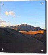 Sand Dune Sunset 2 Acrylic Print