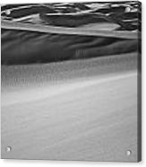 Sand Dunes Abstract Acrylic Print by Aaron Spong