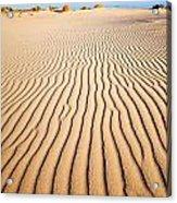 Sand Dunes At Eucla Acrylic Print