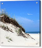 Sand Dunes Of Corolla Outer Banks Obx Acrylic Print