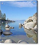 Sand Harbor-lake Tahoe Acrylic Print