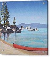 Sand Harbor - Lake Tahoe Acrylic Print