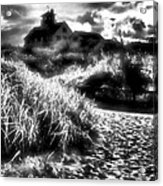 Sand In Ma Shoes Acrylic Print