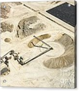 Sand Mine, South Africa Acrylic Print