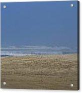 Sand Ocean Sky Acrylic Print