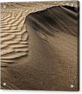 Sand Pattern Abstract - 2 Acrylic Print