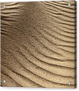 Sand Pattern Abstract - 3 Acrylic Print