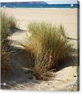 Sand Sea Mountains - Crete Acrylic Print