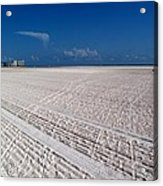 Sand Trails Acrylic Print