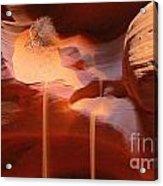 Sand Waterfalls Acrylic Print