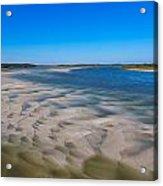 Sandbars On The Fort George River Acrylic Print