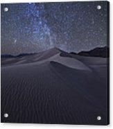 Sandbox Under The Stars Acrylic Print
