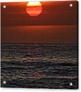 Sandi's Sunset By Diana Sainz Acrylic Print