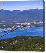 Sandpoint From Trail 3  -  110923-021 Acrylic Print
