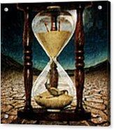 Sands Of Time ... Memento Mori  Acrylic Print