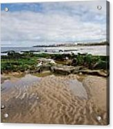 Sands Of Whitley Bay Acrylic Print