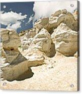 Sandstone And Sky Acrylic Print