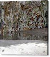 Sandstone Cave V2 Acrylic Print