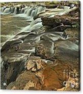 Sandstone Falls Acrylic Print