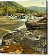 Sandstone Falls Landscape Acrylic Print
