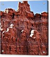 Sandstone Goblin Valley Acrylic Print